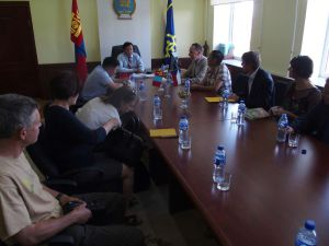 0022 Delegation From CDA And Czech Embassy-in Darkhan