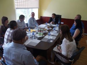0023 Delegation From CDA And Czech Embassy-in Darkhan