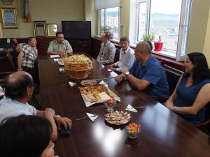 0026 Delegation From CDA And Czech Embassy-in Sharin Gol