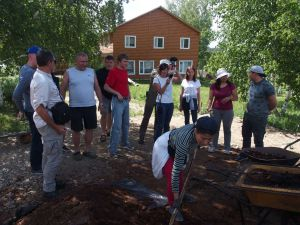 0027 Delegation From CDA And Czech Embassy-in Sharin Gol