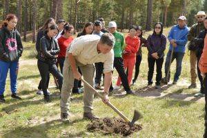 004 Afforestation Training In Zulzaga