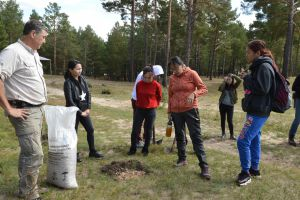 007 Afforestation Training In Zulzaga