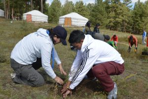 011 Afforestation Training In Zulzaga
