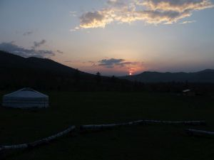 015 Sunset In Tunkhel