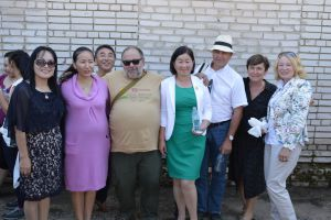 032 Czech Team With Mongolian Colleagues