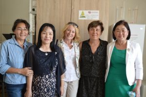 037 Part Of Czech Team With Mongolian Colleagues