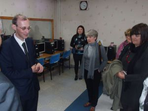 05g Mr Varcovský And Delegation In Don Bosco Education Centre With