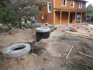 34 Building Of The House - Septic Tank