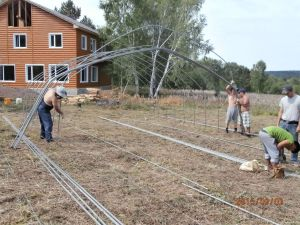 40 Plastic Greenhouses Construction