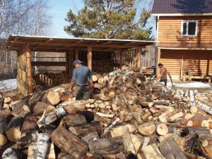 48 Wood Splitting