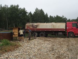 63 Tanker From Coal Mine Is Rescue