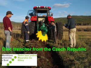6 Disc Trencher From The Czech Rep